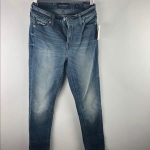 NWT Lucky Brand Hayden Skinny Jeans 0/25